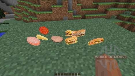 Fast Food Mod [1.7.10] for Minecraft