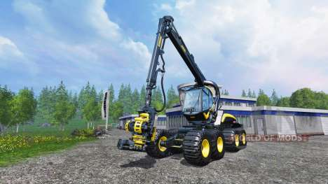 PONSSE Scorpion King v1.1 for Farming Simulator 2015
