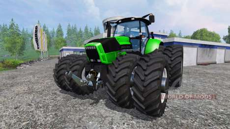 Deutz-Fahr Agrotron X 720 Ploughing Spec for Farming Simulator 2015