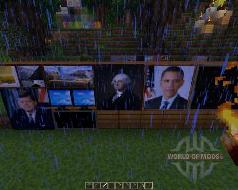 America texture pack [64x][1.8.8] for Minecraft