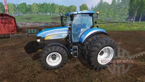 New Holland TM7040 for Farming Simulator 2015