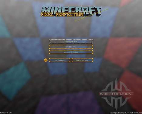 Pixel Perfection [16x][1.8.1] for Minecraft