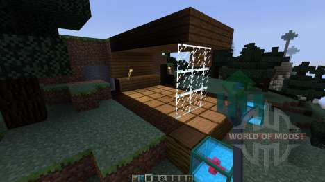 Invisible Zones [1.7.10] for Minecraft