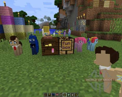The My Little Pony Model Pack [32x][1.8.1] for Minecraft