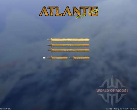 Royal Atlantean GUI Pack [16x][1.8.8] for Minecraft