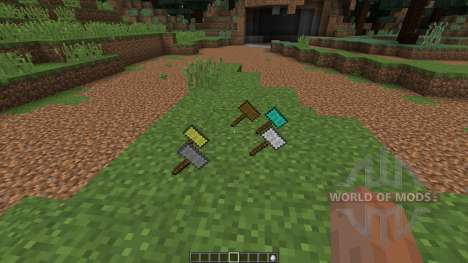 Hammers [1.8] for Minecraft