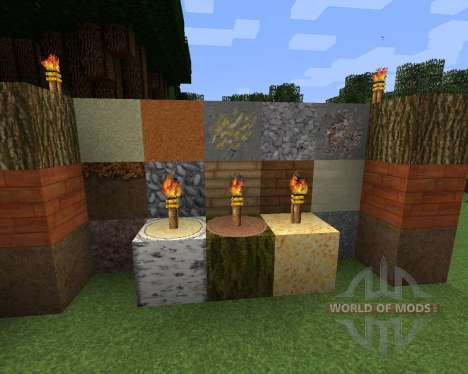 MiniGizs Resource Pack [64x][1.8.8] for Minecraft