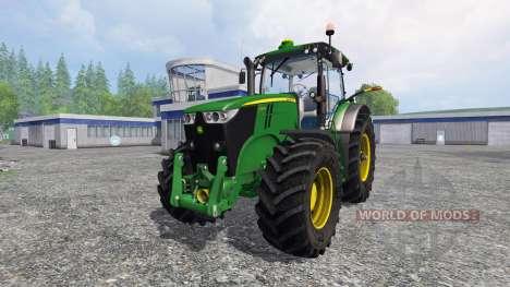 John Deere 7200R v2.0 for Farming Simulator 2015