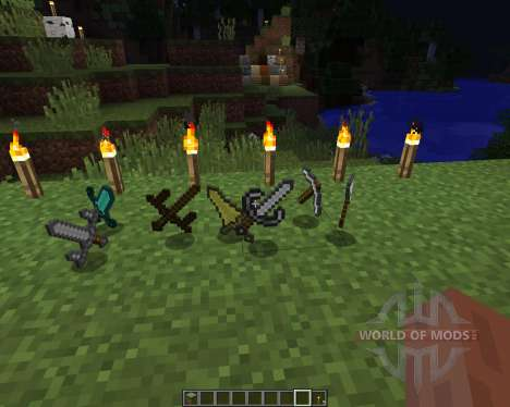 Better Tools Texture pack [16x][1.8.1] for Minecraft