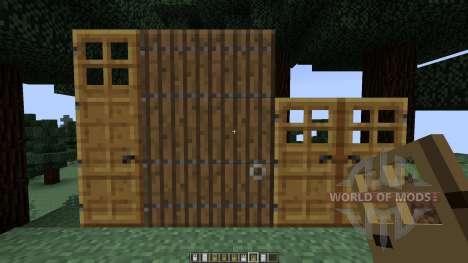 Roxas Tall Doors [1.7.10][1.7.2] for Minecraft