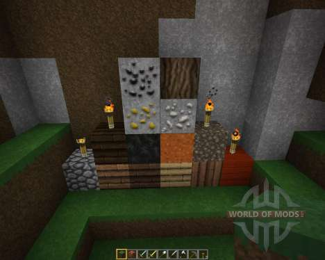 Onigiris Resource Pack [32x][1.8.8] for Minecraft