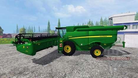 John Deere S 690i for Farming Simulator 2015