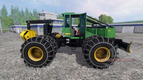 John Deere 748H for Farming Simulator 2015