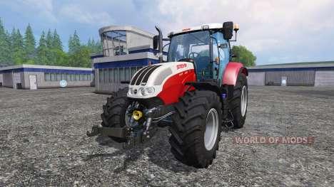 Steyr CVT 6130 EcoTech for Farming Simulator 2015