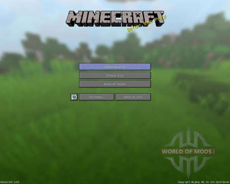 Cleany pack [32x][1.8.8] for Minecraft