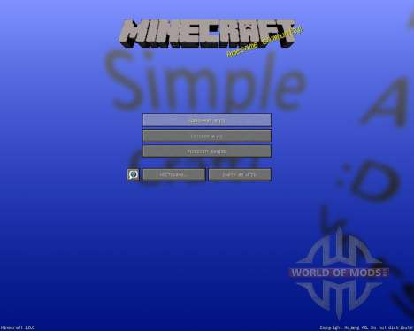 Simple Craft Resource Pack [16x][1.8.8] for Minecraft