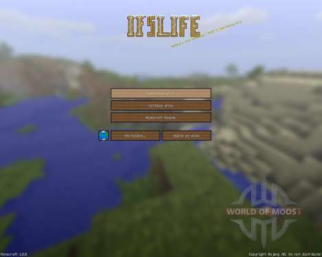 Ifs Life Cartoony Resource Pack [128x][1.8.8] for Minecraft
