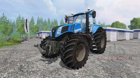 New Holland T8.320 v2.0 for Farming Simulator 2015