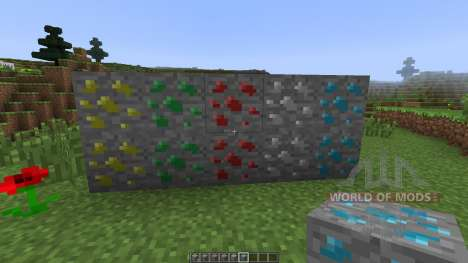 Double Ore [1.7.10] for Minecraft