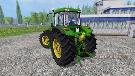 John Deere 7810 v3.0 for Farming Simulator 2015