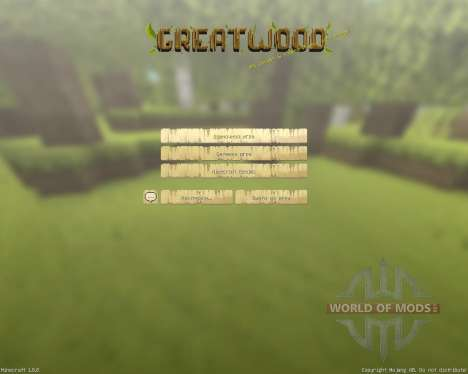 GreatWood Resource Pack [16x][1.8.8] for Minecraft