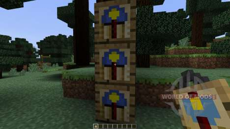 Wall Clock [1.7.10] for Minecraft