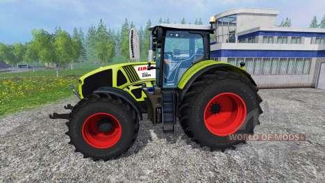 CLAAS Axion 950 v1.1 for Farming Simulator 2015
