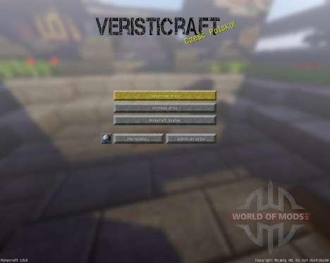 Veristicraft Realistic [128x][1.8.8] for Minecraft
