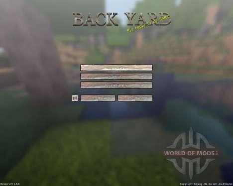 BackyardCraft [64x][1.8.8] for Minecraft
