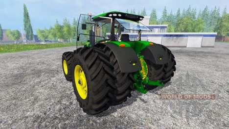 John Deere 7290R and 8370R v1.0b for Farming Simulator 2015