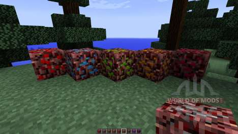 More Nether Ores [1.7.10] for Minecraft