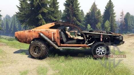 Dodge HL2 orange for Spin Tires