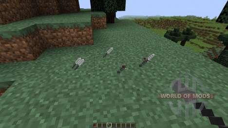 Ballistic Knife [1.8] for Minecraft