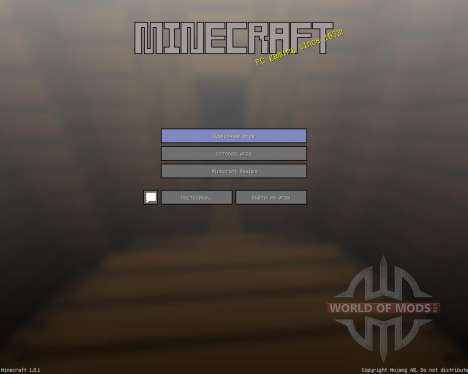 3D Simplicity [16x][1.8.1] for Minecraft