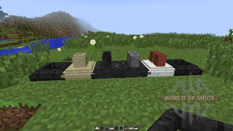 Decorative Marble and Chimneys [1.7.10] for Minecraft