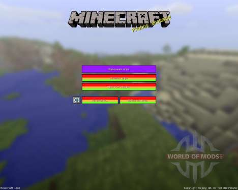 Endless Rainbow [16x][1.8.8] for Minecraft