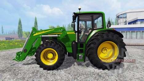 John Deere 6630 Premium front loader for Farming Simulator 2015