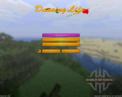 Dancing Life v0.9.8.2 [16x][1.8.8] for Minecraft