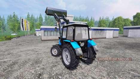 MTZ-82.1 FL v2.0 for Farming Simulator 2015