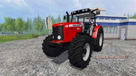 Massey Ferguson 6485 for Farming Simulator 2015
