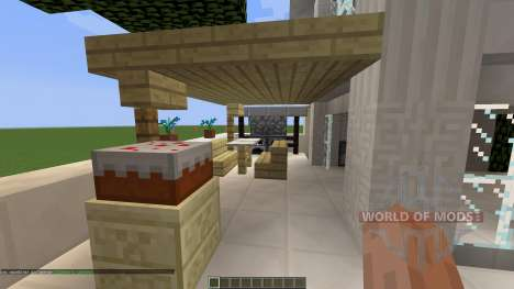 Small Modern House [1.8][1.8.8] for Minecraft