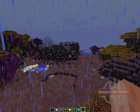 Norzeteus Space [128x][1.8.1] for Minecraft