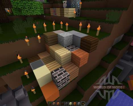NoDetailsButColorful [16x][1.8.1] for Minecraft