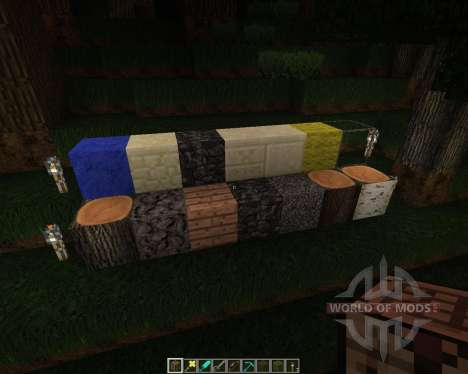 Bonescripters Texture Pack [96x][1.8.1] for Minecraft