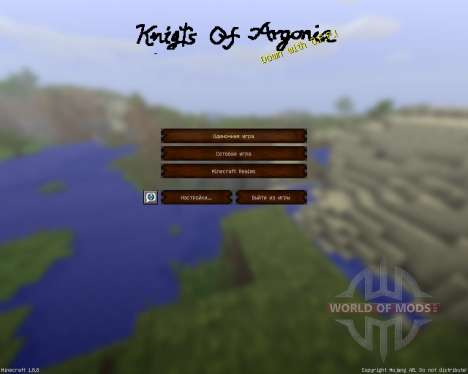 Knights Of Argonia [32x][1.8.8] for Minecraft