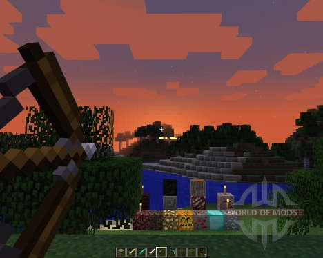 LEFT HAND RESOURCE PACK [16x][1.8.1] for Minecraft