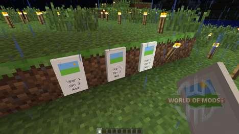 Calendar [1.5.2] for Minecraft