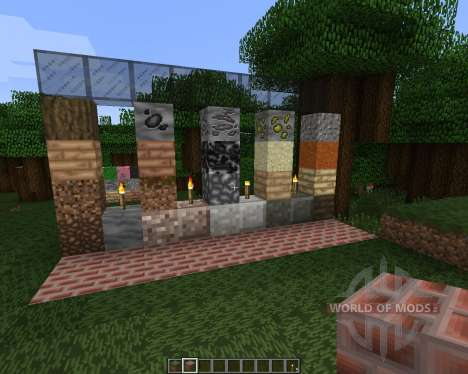 Re-Imagine Default Resource Pack [32x][1.8.8] for Minecraft