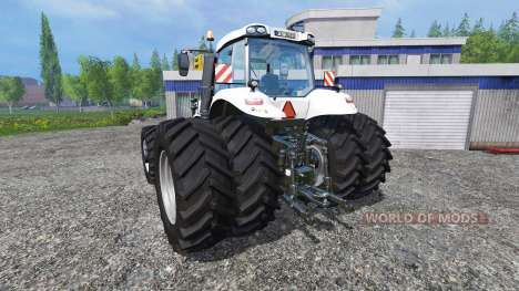 New Holland T8.320 White Dualls for Farming Simulator 2015