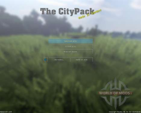 City Pack V0.7 [64x][1.8.8] for Minecraft